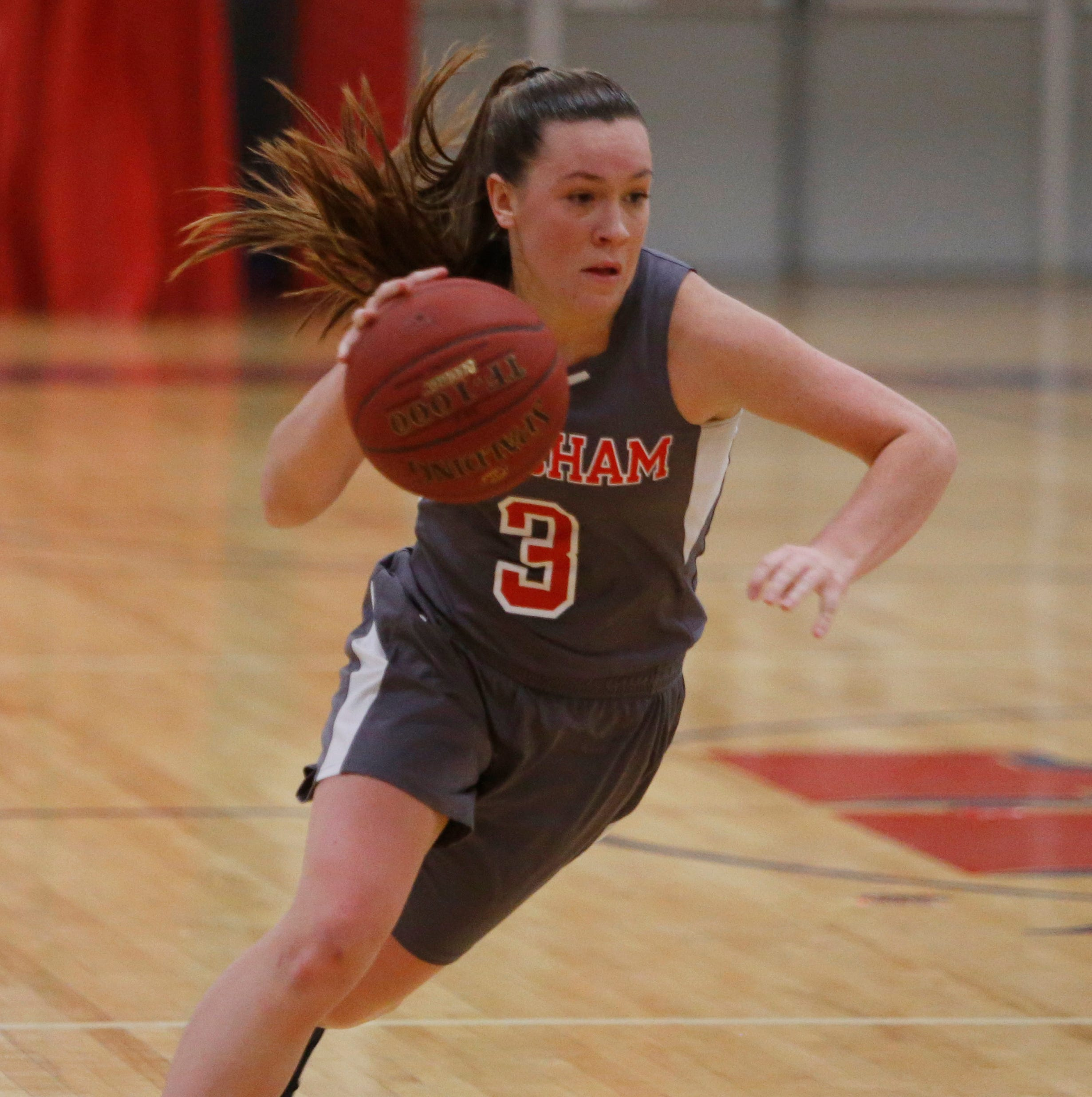 Ketcham's Katie Wall reaches 2,000 career points, fulfilling childhood promise