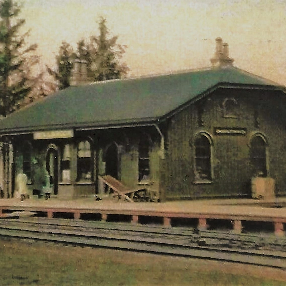 First came the railroad station, then came Millbrook