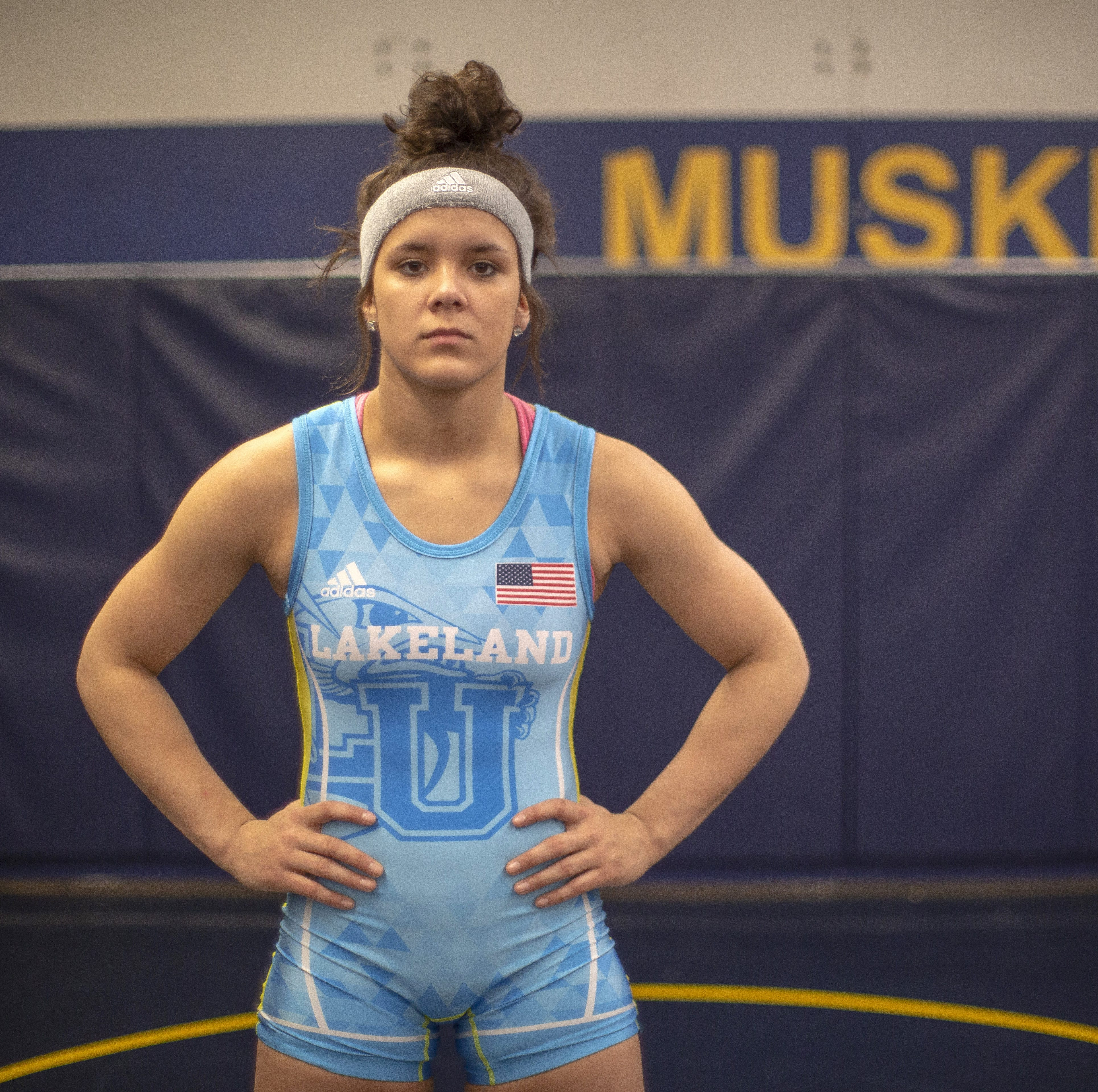 Lakeland's first women's wrestling national champion sets sights on 2020 Olympics
