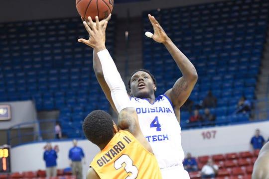 DaQuan Bracey scored a career-high 28 points for Louisiana Tech on Thursday.
