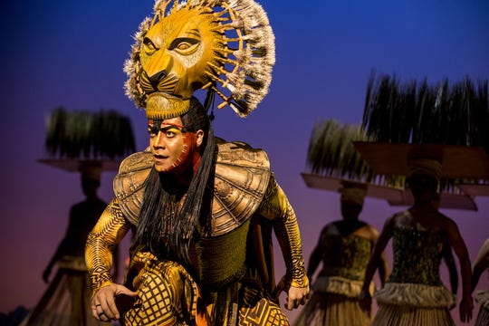 "Gerald Ramsey as Mufasa in ""The Lion King"" North American Tour."