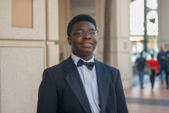 Jovey Osagie performs with Chiles Orchestra as well as the Bach Parley and Youth Orchestra.