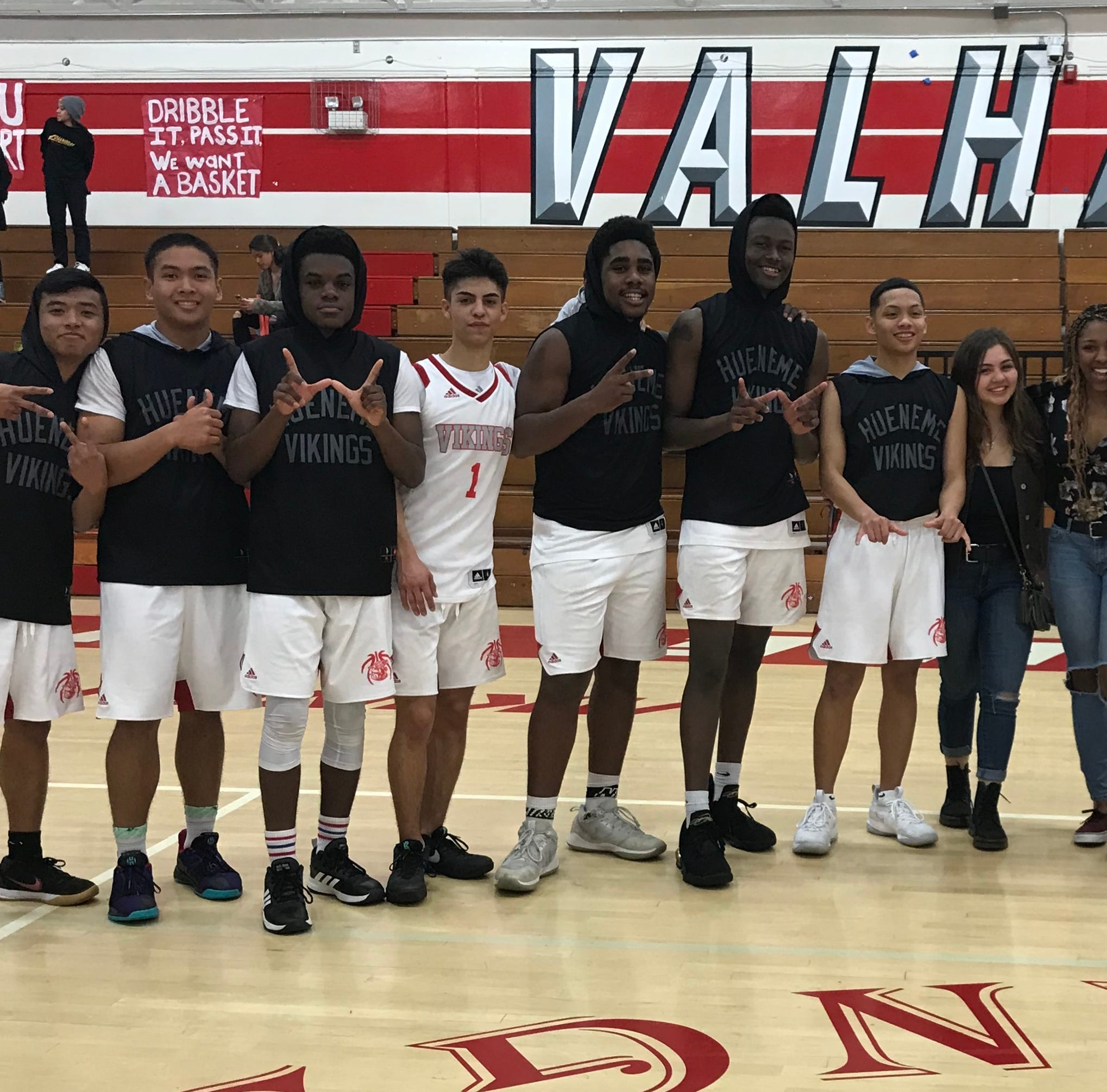 Hard work pays off for first-time semifinalist Hueneme High boys basketball team