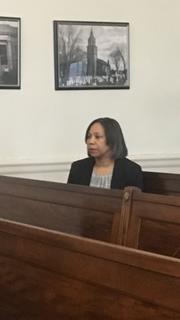 Mount Vernon Comptroller Deborah Reynolds after addressing  the city council about her 2019 budget proposal