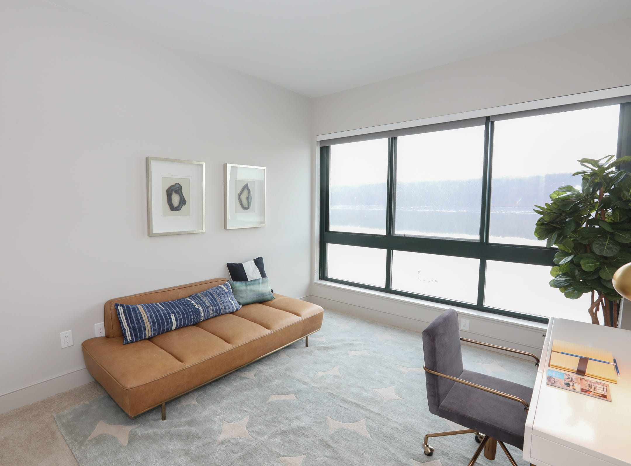 The second badroom of a two bedroom apartment at The River Club at Hudson Park in Yonkers on Friday, February 15, 2019.
