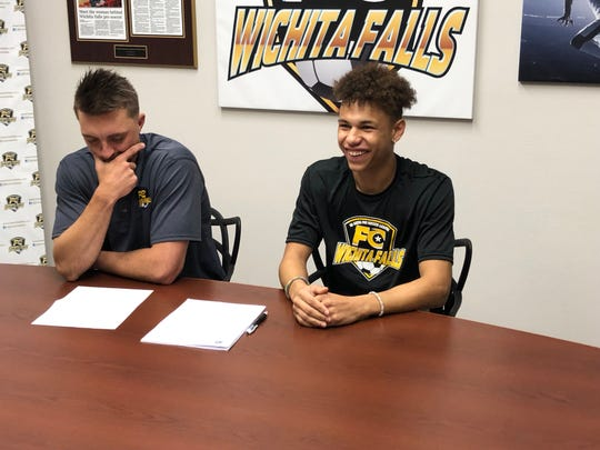 Josh Peloquin became the next Rider soccer standout to sign with indoor soccer team FC Wichita Falls.