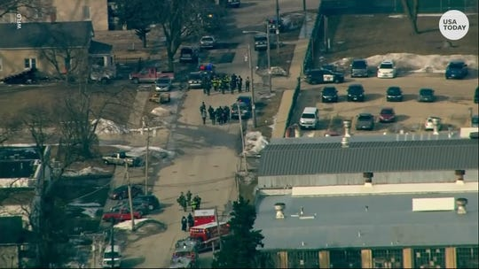 Gunman opens fire at manufacturing plant in Aurora, Illinois