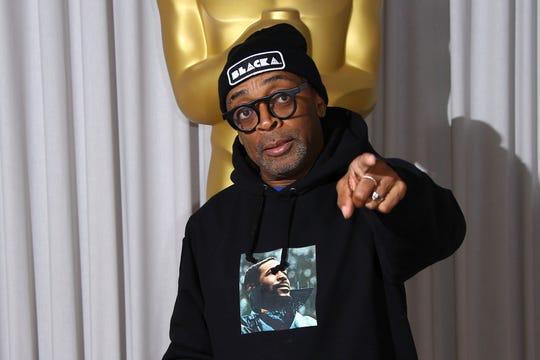 """Spike Lee is up for his first best director Oscar for """"BlacKkKlansman."""""""