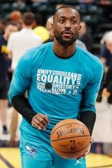 Charlotte Hornets guard Kemba Walker