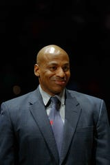 Former New Orleans Pelicans general manager Dell Demps.