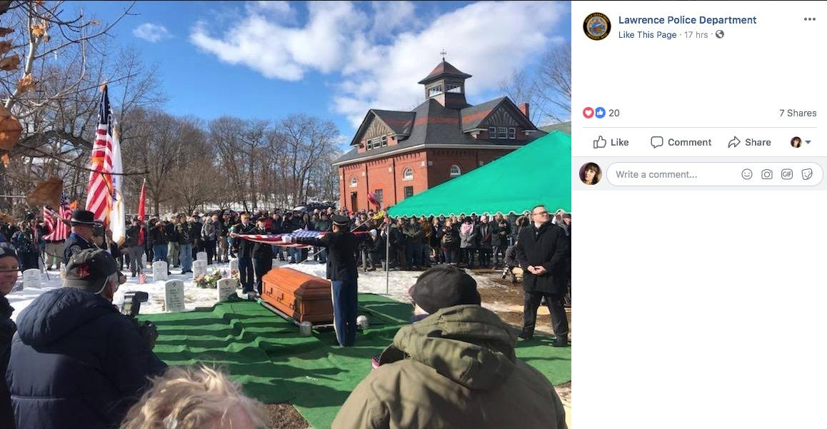 No family would be at a WWII veteran's Valentine's Day funeral. So, hundreds of strangers showed up