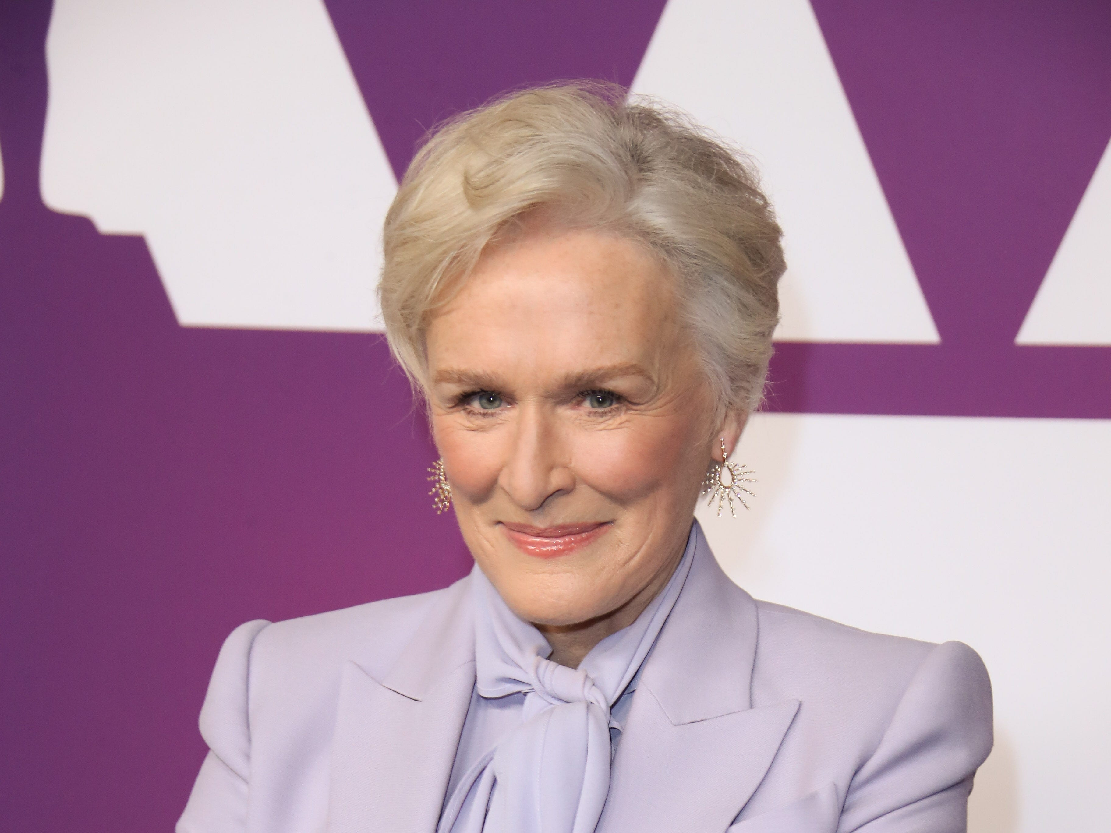 2/4/19 11:21:12 AM -- Beverly Hills, CA, U.S.A  --Glenn Close arrives at the 91st Oscar nominees luncheon at the Beverly Hilton Hotel in Beverly Hills, CA--    Photo by Dan MacMedan, USA TODAY contract photographer ORG XMIT:  DM 137796 OscarNomineesLun 2/4/ [Via MerlinFTP Drop]
