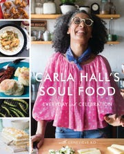"""Chef Carla Hall celebrates the """"greens, beans and grains"""" of historical African-American cuisine in her latest book, """"Carla Hall's Soul Food: Everyday and Celebration."""""""