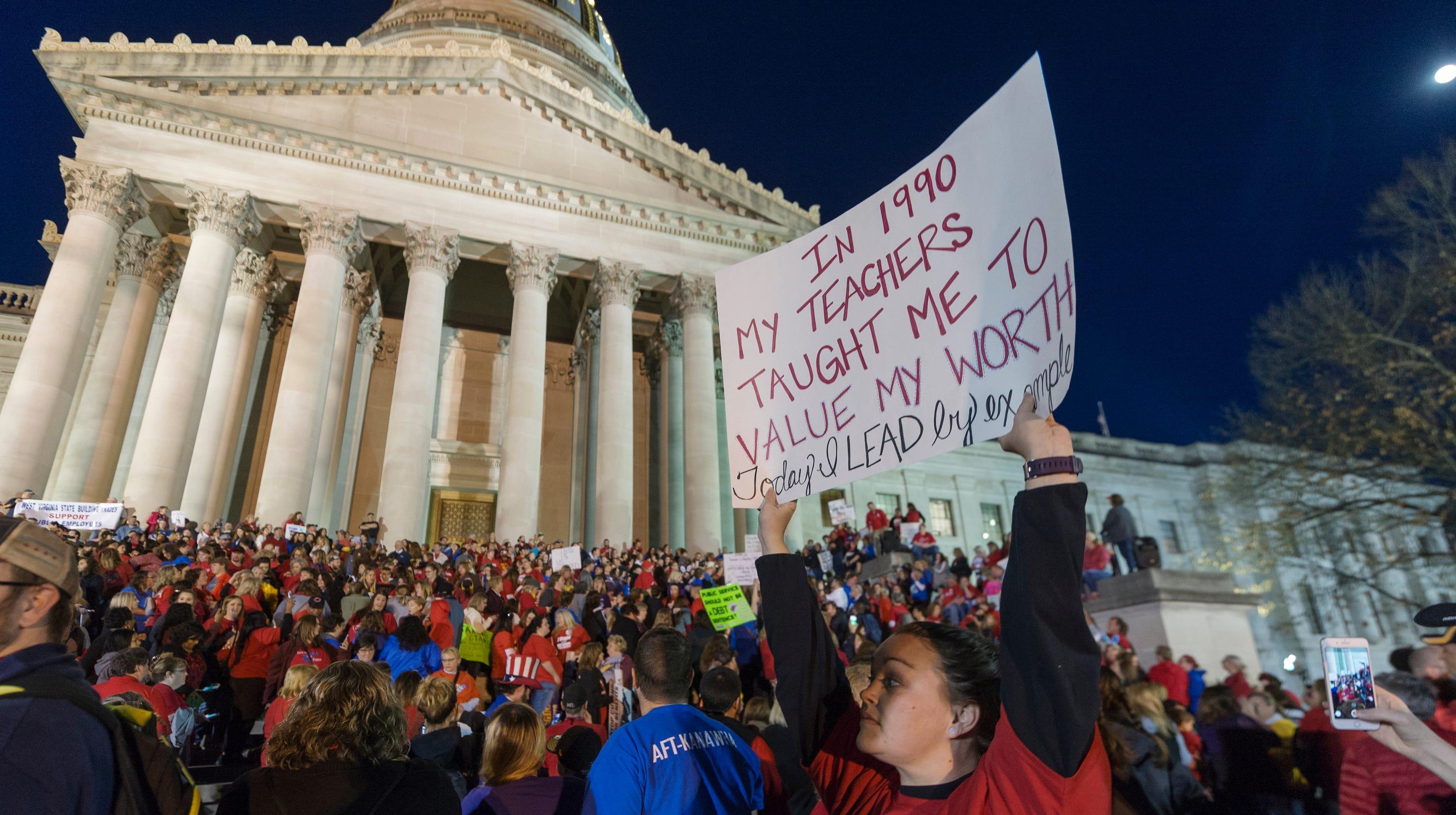West Virginia teachers strike: Movement started year ago