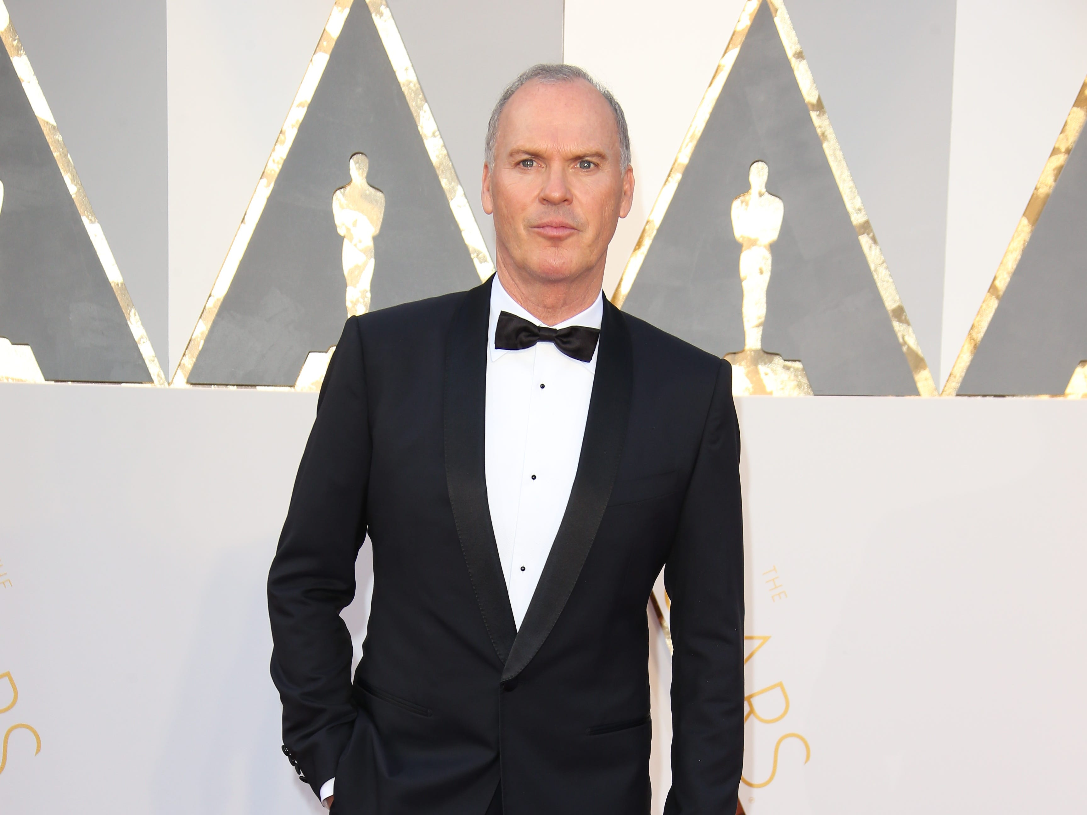 Feb 28, 2016; Hollywood, CA, USA;  Michael Keaton arrives on the red carpet during the 88th annual Academy Awards at the Dolby Theatre. Mandatory Credit: Dan MacMedan-USA TODAY NETWORK ORG XMIT: USATSI-265242 (Via OlyDrop)