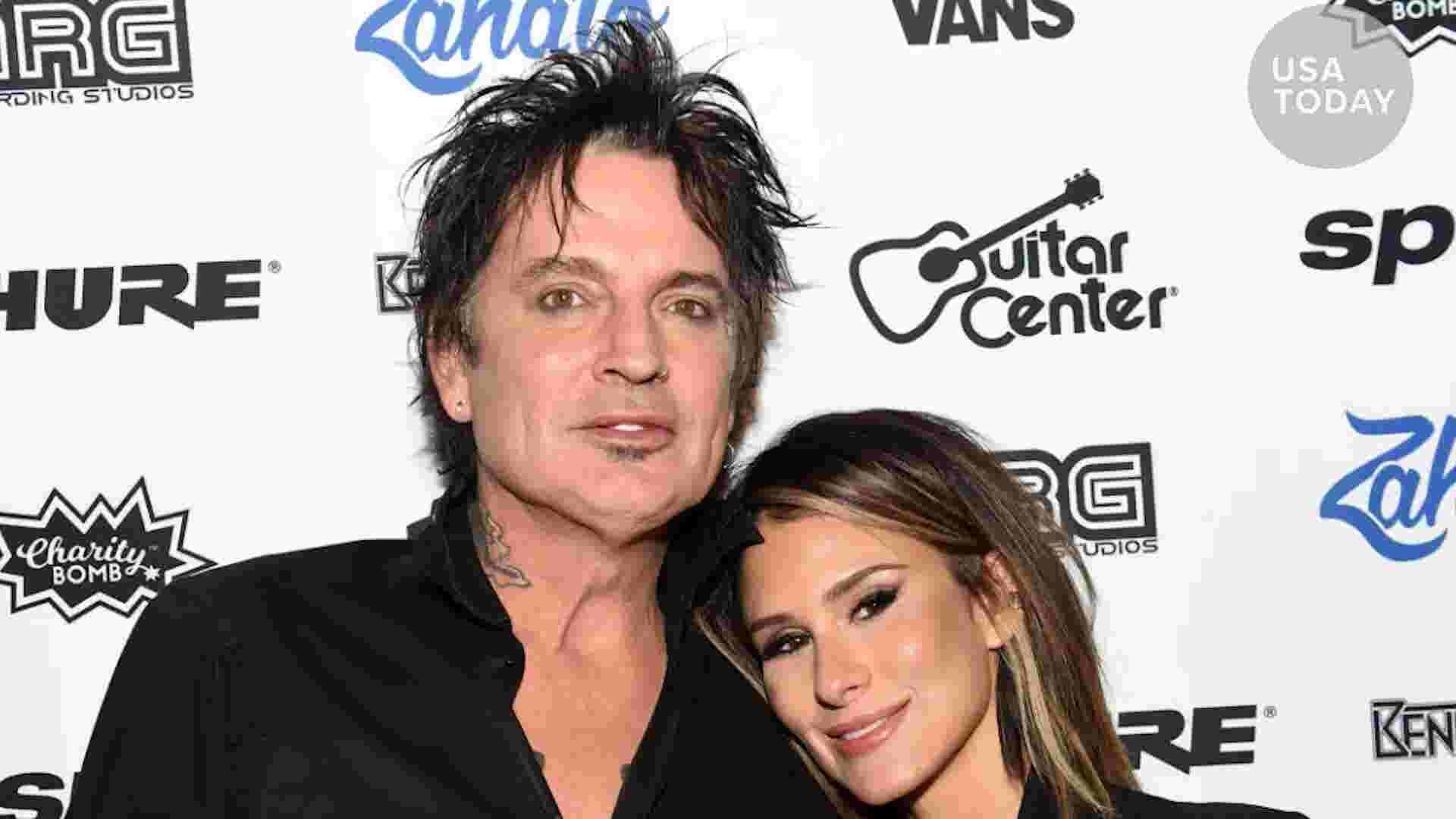 Tommy Lee married on Valentine's Day