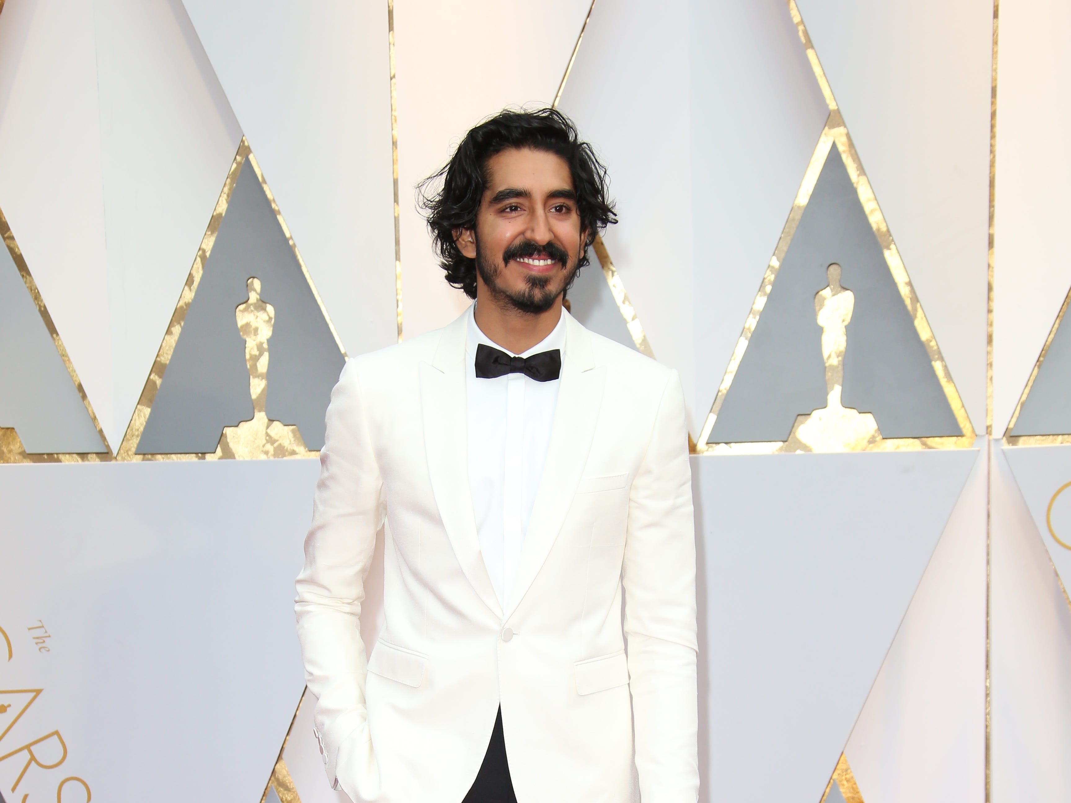 Feb 26, 2017; Hollywood, CA, USA; Dev Patel on the red carpet during the 89th Academy Awards at Dolby Theatre. Mandatory Credit: Dan MacMedan-USA TODAY NETWORK ORG XMIT: USATSI-357477 (Via OlyDrop)