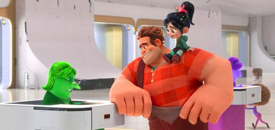 """Ralph Breaks the Internet"" was nominated for an Oscar for best animated feature. The 91st Academy Awards will be held on Feb. 24."