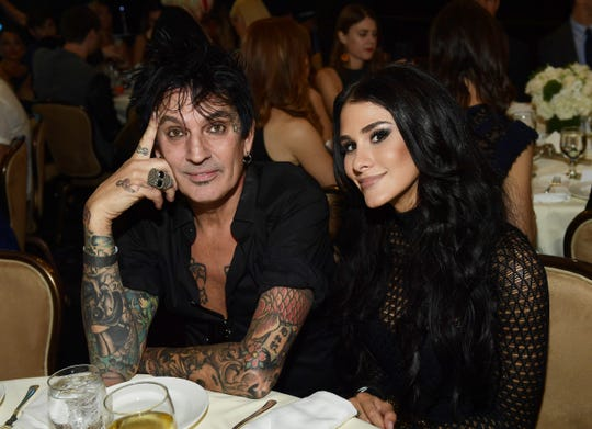 Tommy Lee and Brittany Furlan knotted the knot!