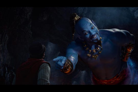 "Will Smith stars as Genie in ""Aladdin."" It hasn't been all smiles."
