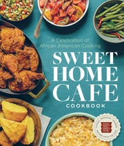 """Jerome Grant, executive chef of the Sweet Home Cafe in the Smithsonian National Museum of African American History and Culture, co-wrote the """"Sweet Home Cafe Cookbook"""" with cafe supervisory chef Albert Lucas and noted food historian Jessica Harris."""