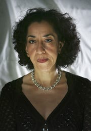 Andrea Levy poses for a portrait at Edinburgh Literary Festival held at Charlotte Square on August 16, 2005 in Glasgow, Scotland.