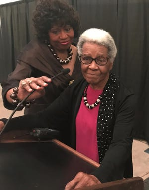 Now 85, Effie Brewster was honored Friday night as mother to many in the Pasadena Heights community in Abilene.