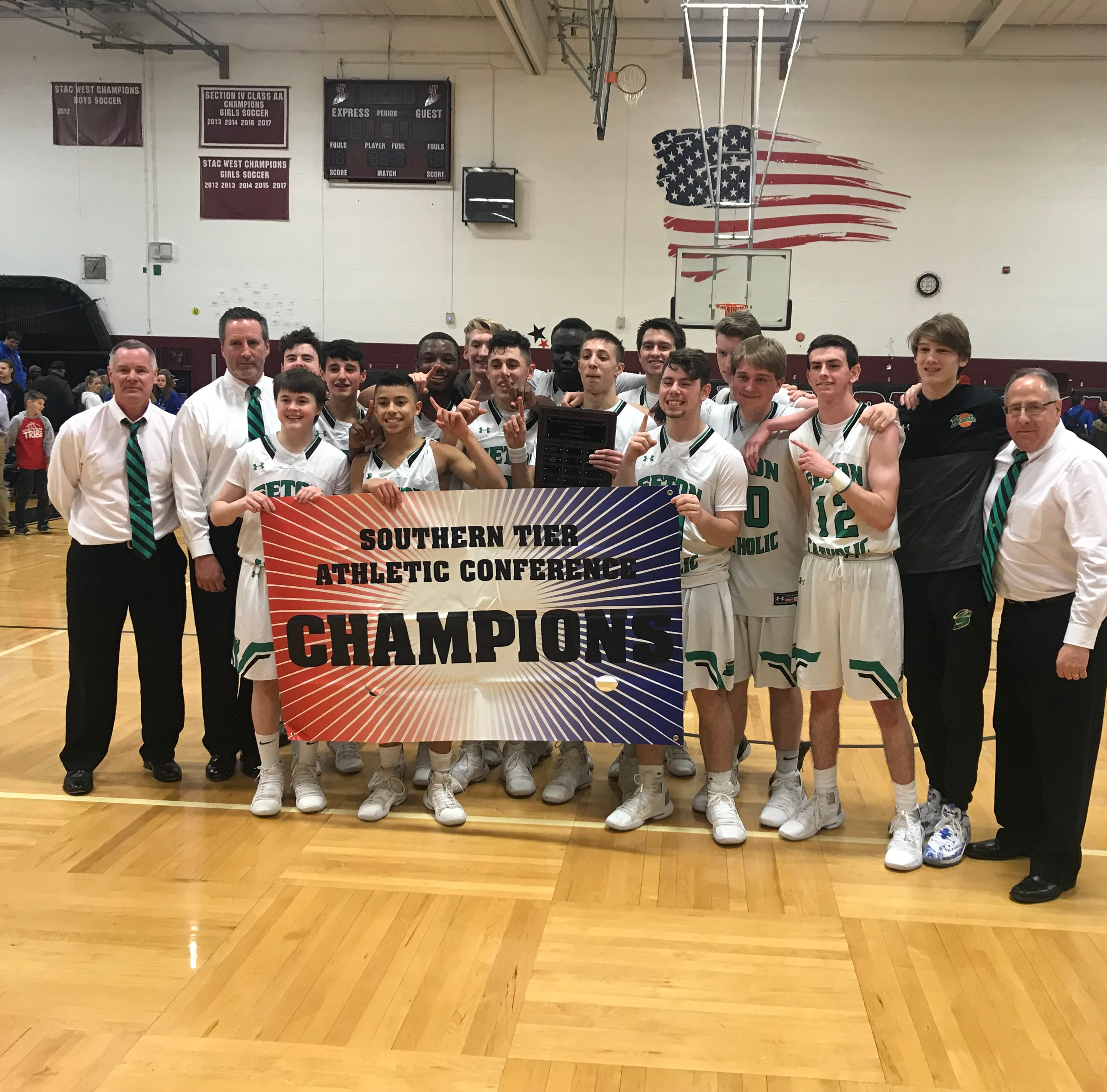 HS Basketball: Seton CC boys repeat as STAC champions