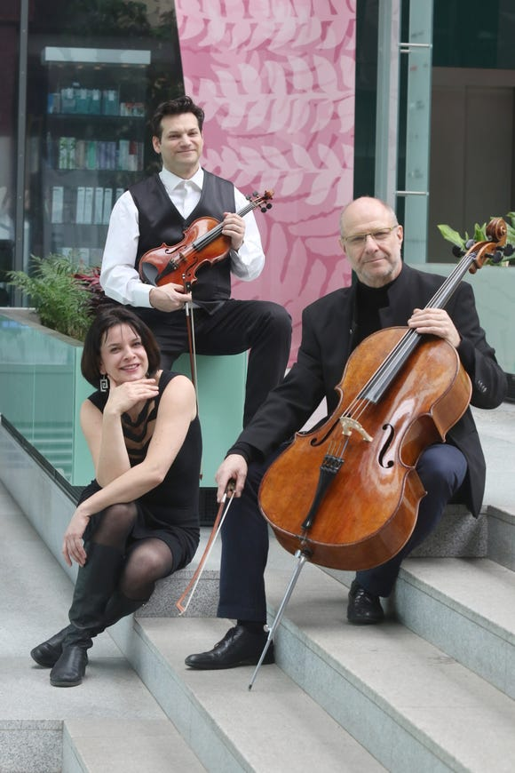 The Smetana Trio perform chamber music Feb. 23 at the Joseph F. Wheeler Theater in Port Townsend.