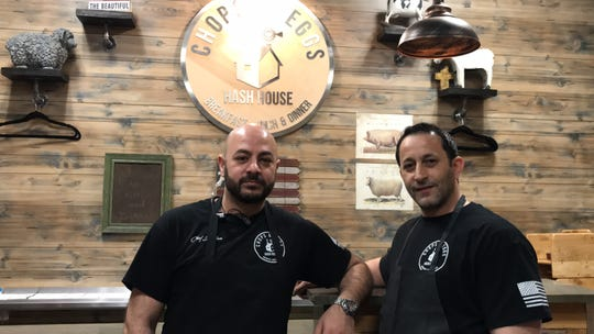 Chops & Eggs Hash House owners Jordan and Ramsi Jaradat continue to uphold the restaurant's legacy with fresh food and excellent service to customers.