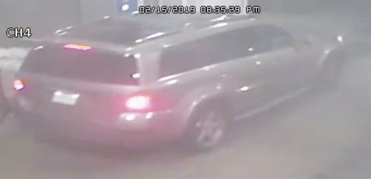 Image of Linden robbbery suspects' vehicle.