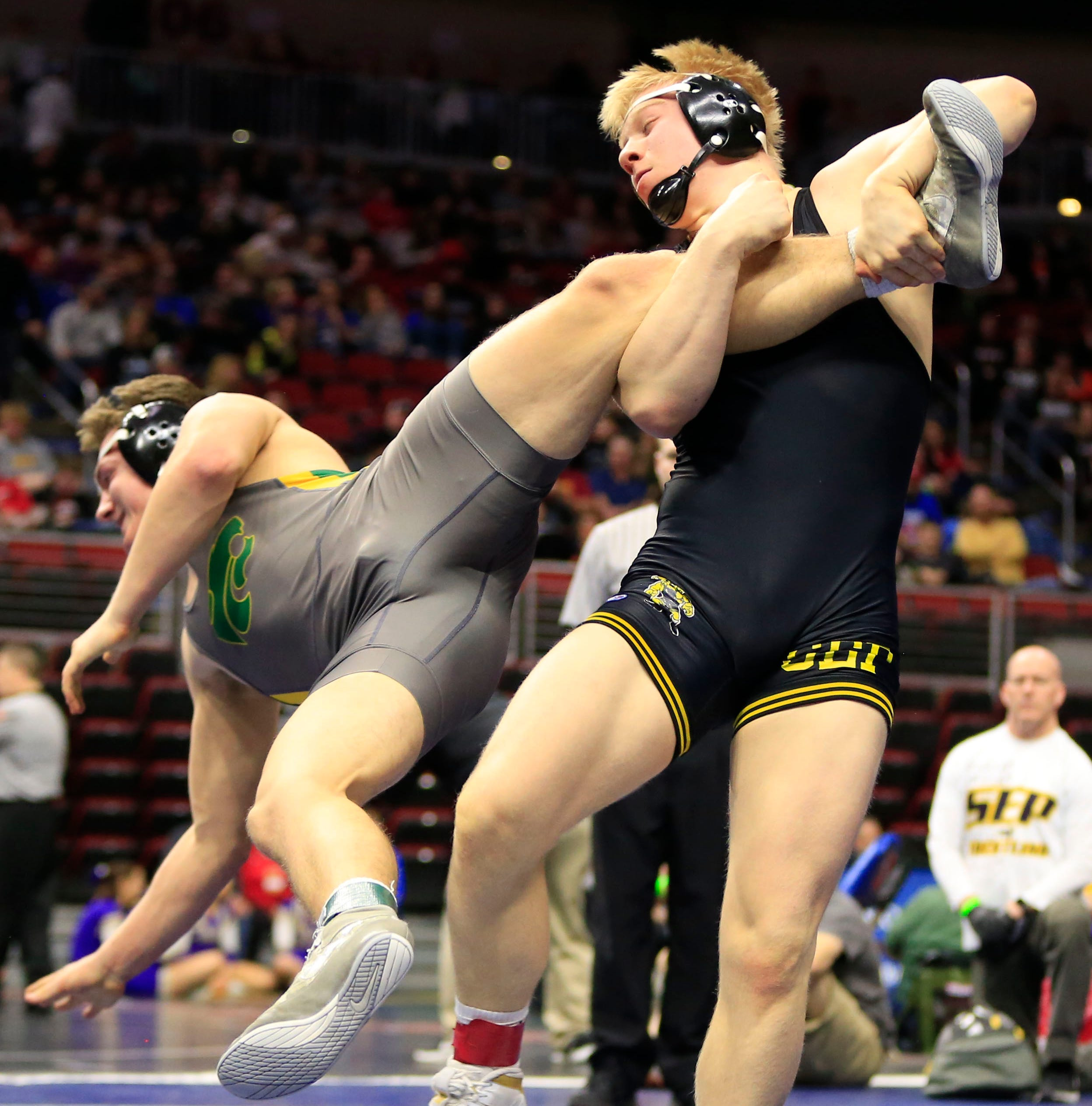 Wrestling: Southeast Polk state champion Gabe Christenson commits to Iowa