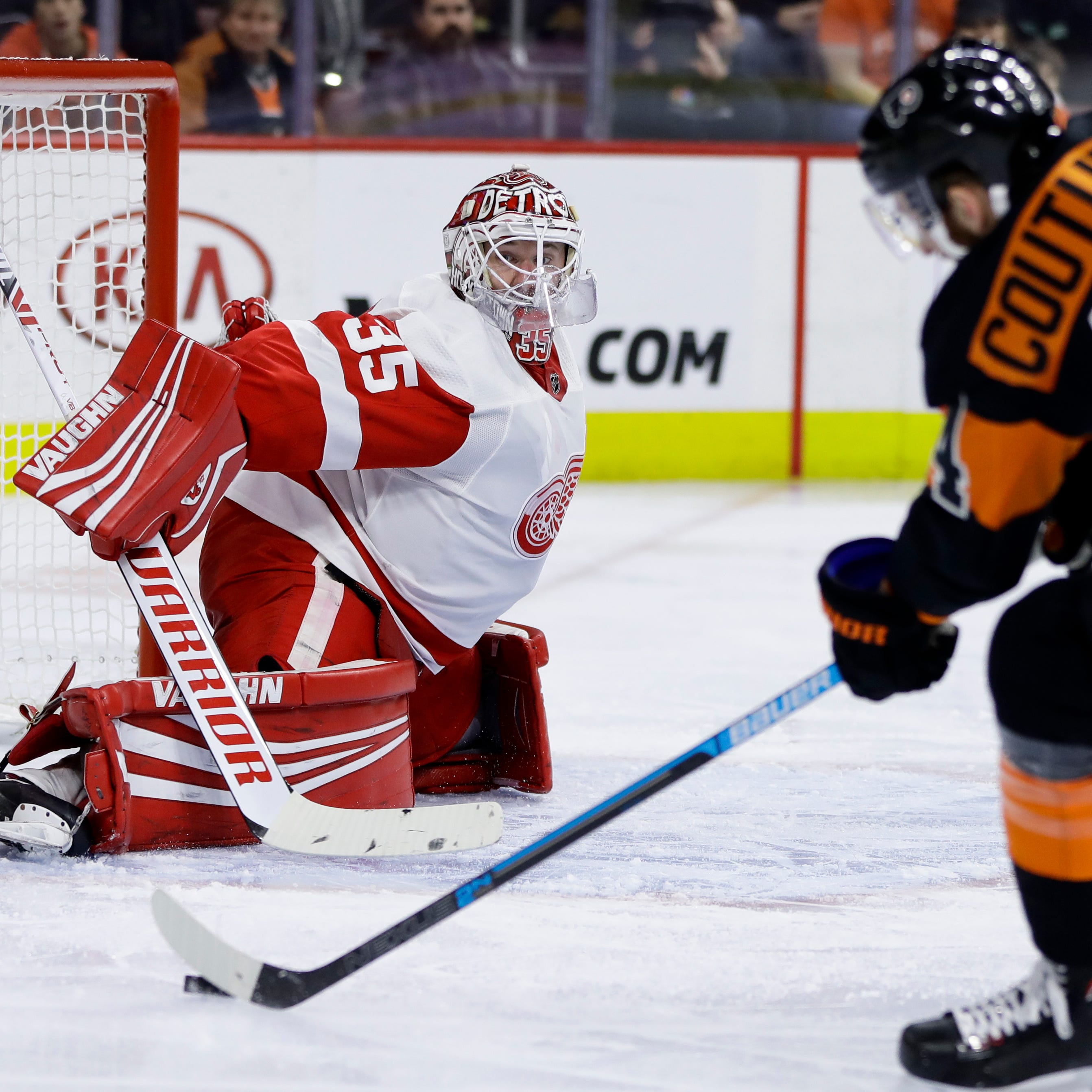 Detroit Red Wings stage huge rally, then lose in OT to Flyers, 6-5