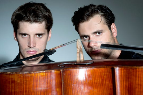 """You can expect to hear anything from Ed Sheeran's """"Perfect"""" to """"Smells Like Teen Spirit"""" at a 2Cellos show."""