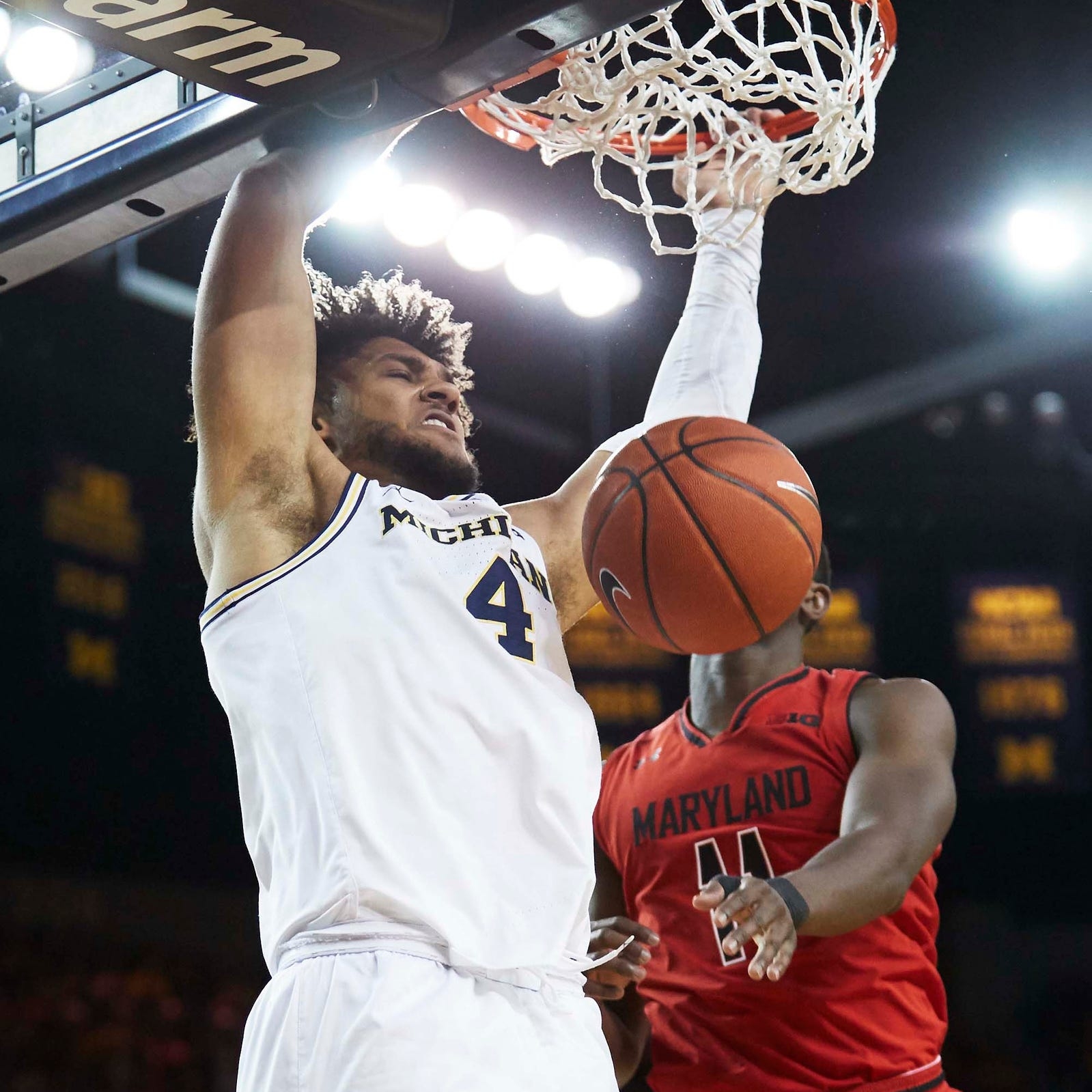 Michigan basketball uses ferocious start to find mojo vs. Maryland