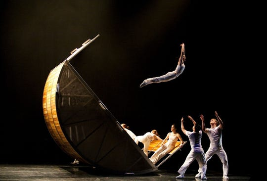 Architectural pieces are the central inspiration for Diavolo's intensely physical choreography.