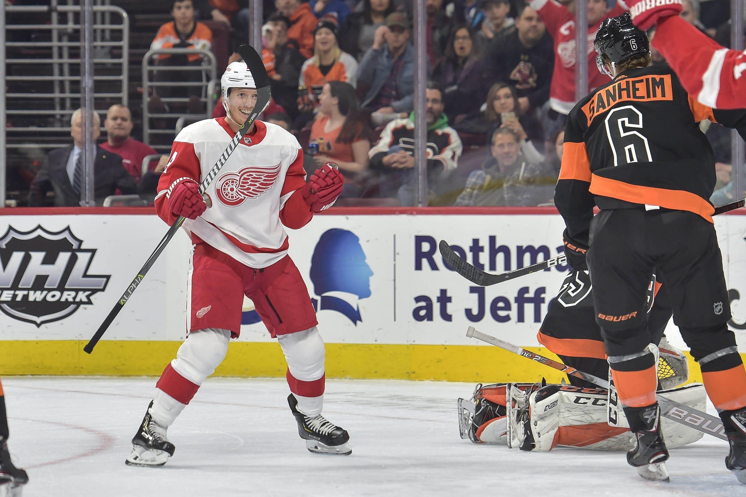 d23eab75e21 Detroit Red Wings trade Gustav Nyquist to San Jose Sharks for picks
