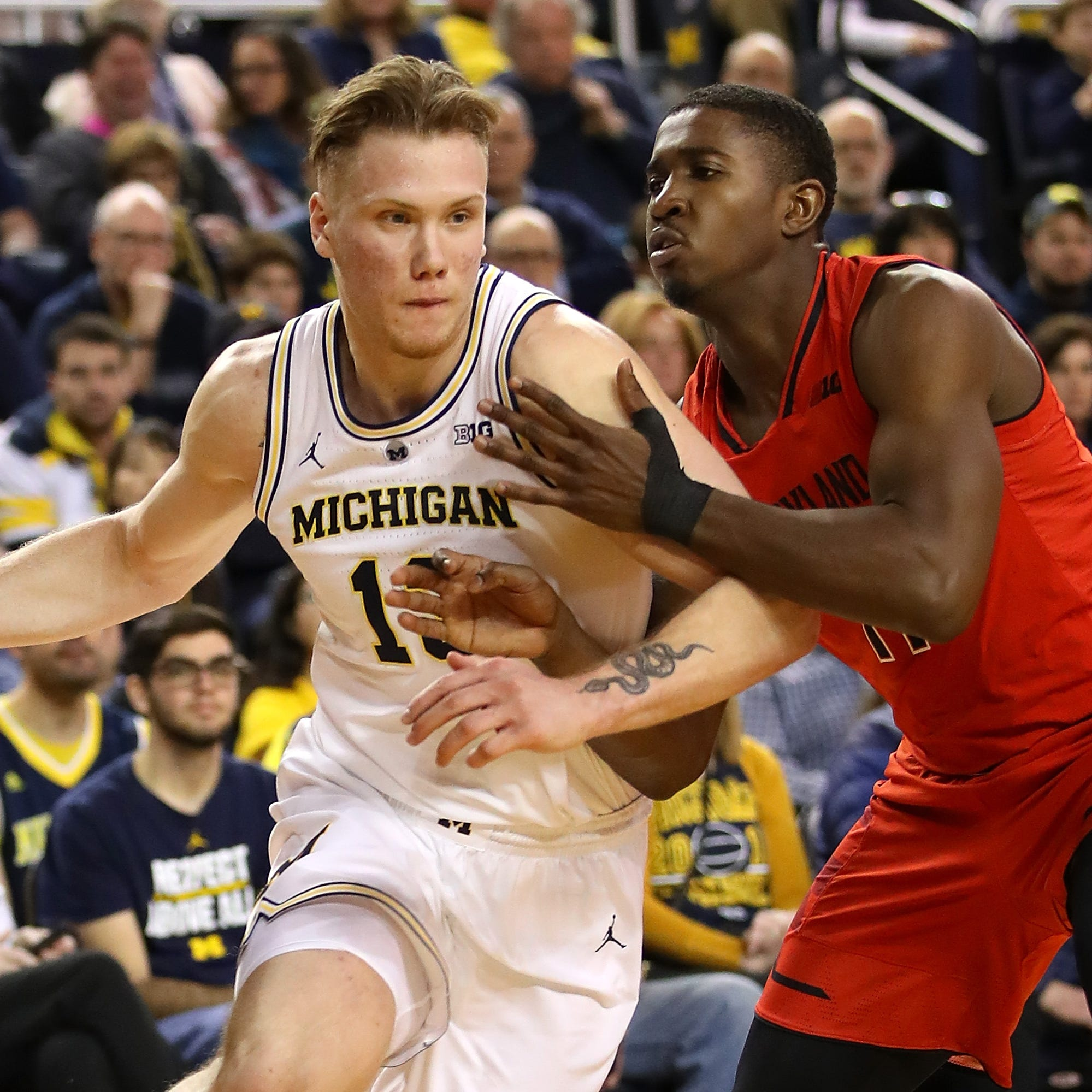 Game thread: Michigan bounces back with 65-52 win over Maryland