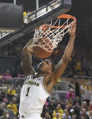 Michigan's Charles Matthews has a year of eligibility left though academically he is a senior.