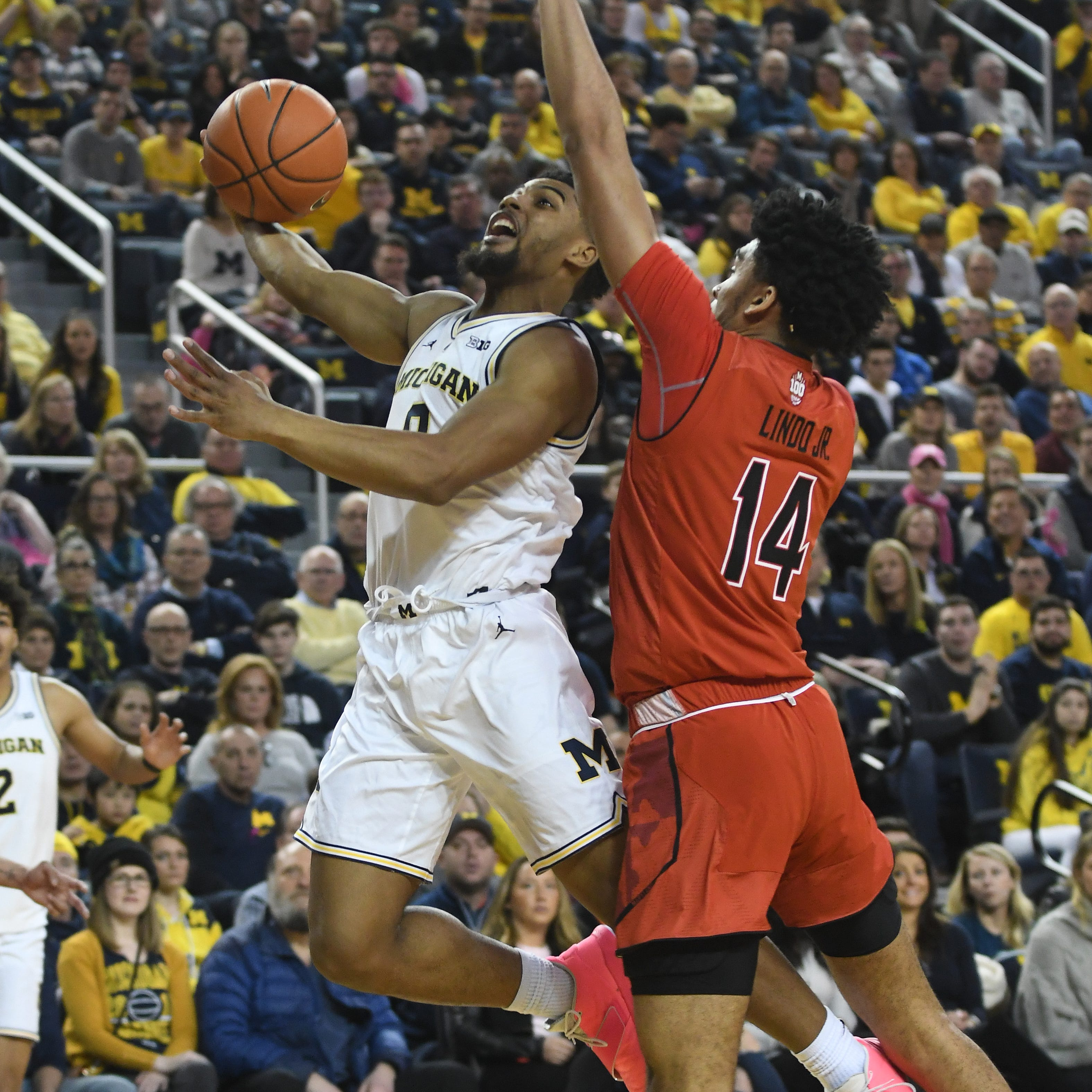 'It's time for David': Beilein turns to DeJulius for backup role