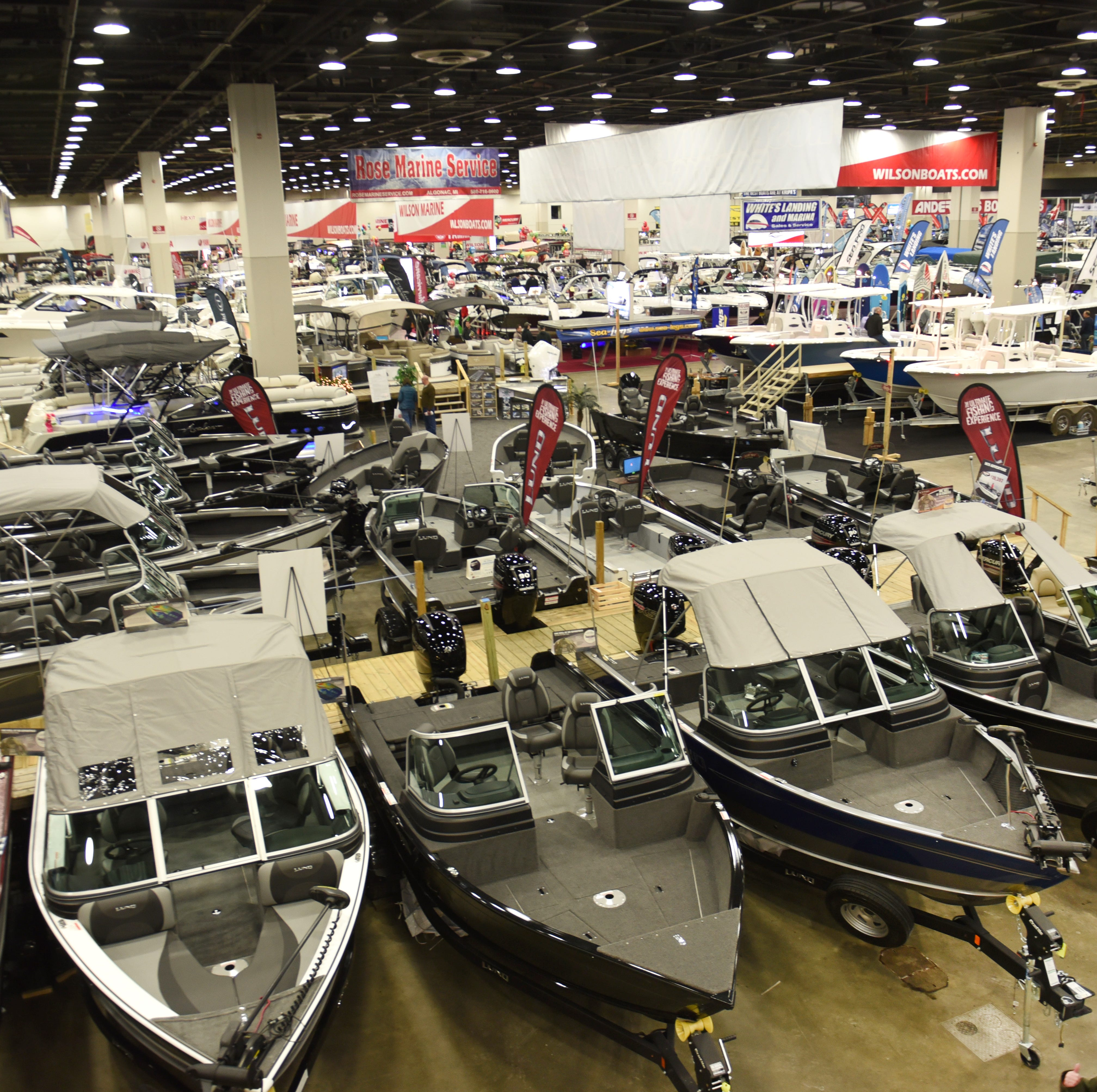 Lake water level forecast draws mixed reaction at Boat Show