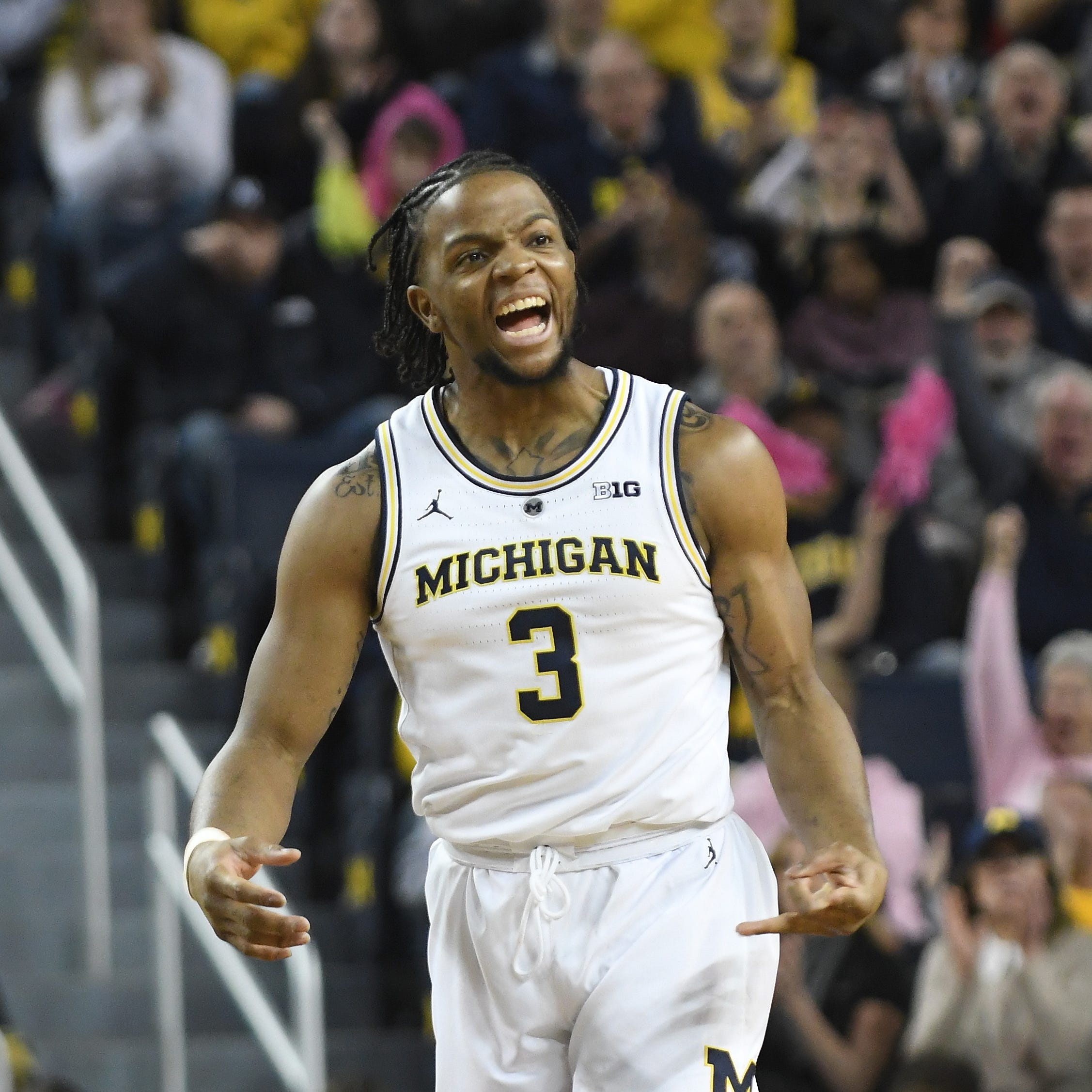 Zavier Simpson, dominant defense give Michigan a Final Four shot
