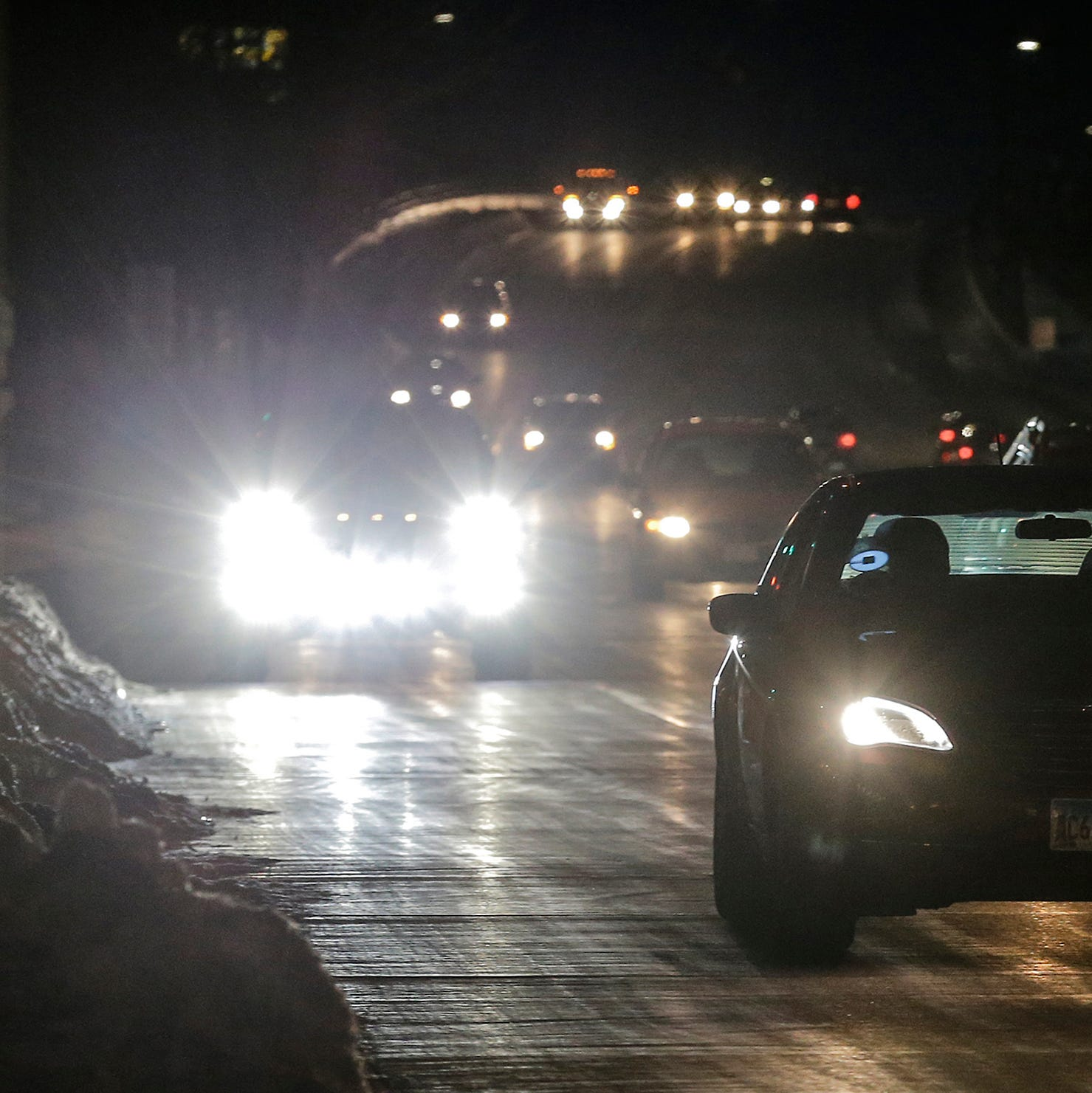 Blinded by the light: Are bright headlights forcing you to squint and pull off the road?
