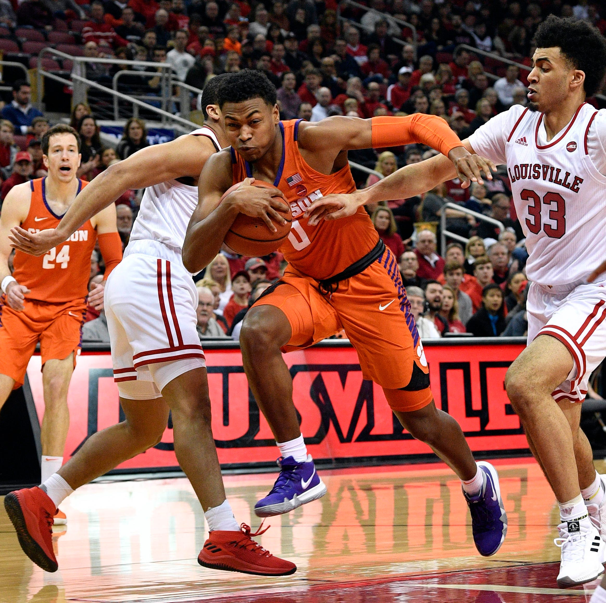 Close defeats jeopardizing Clemson basketball team's NCAA Tournament hopes