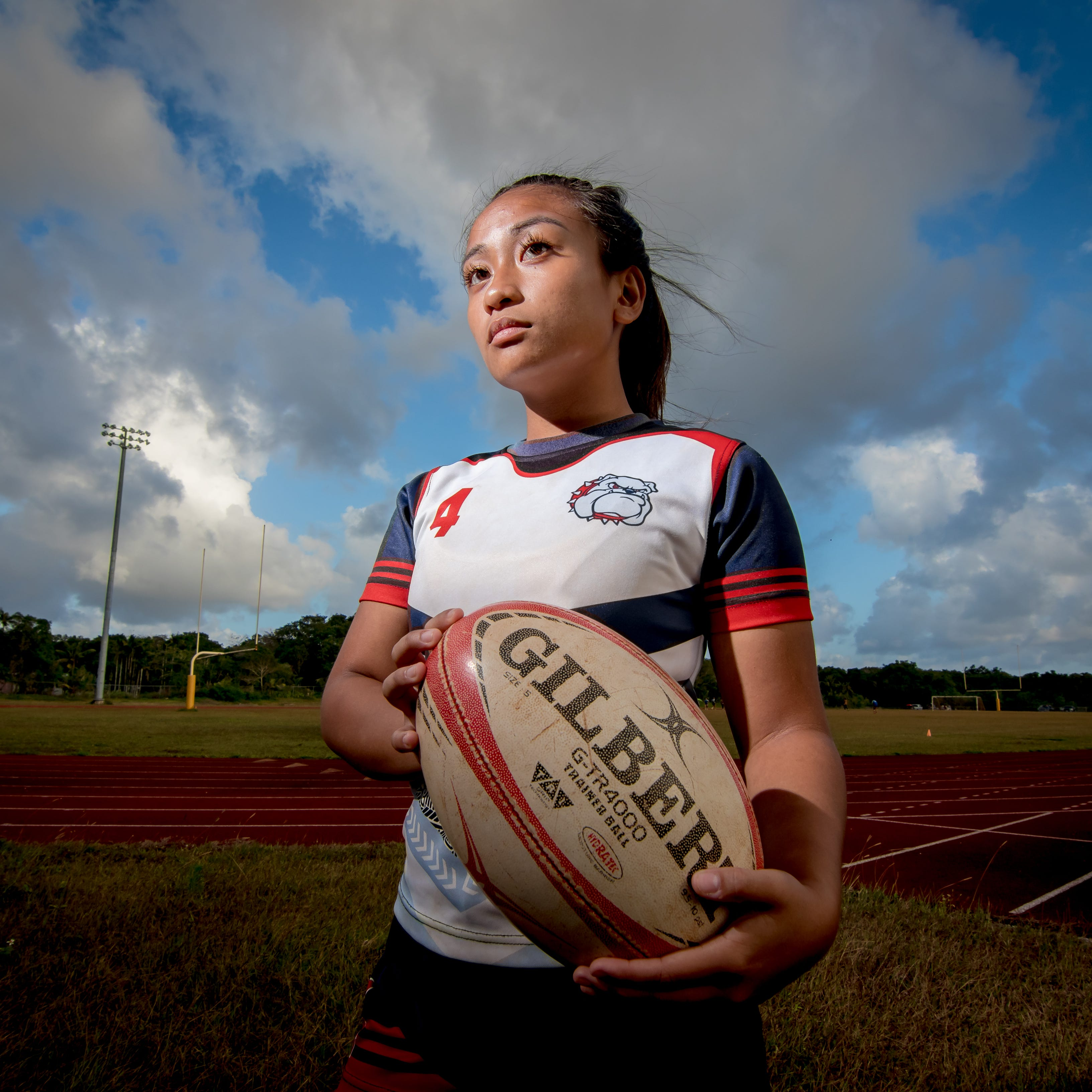 'Guam girls play with more heart': How Mara Tamayo persevered to become a star rugby player
