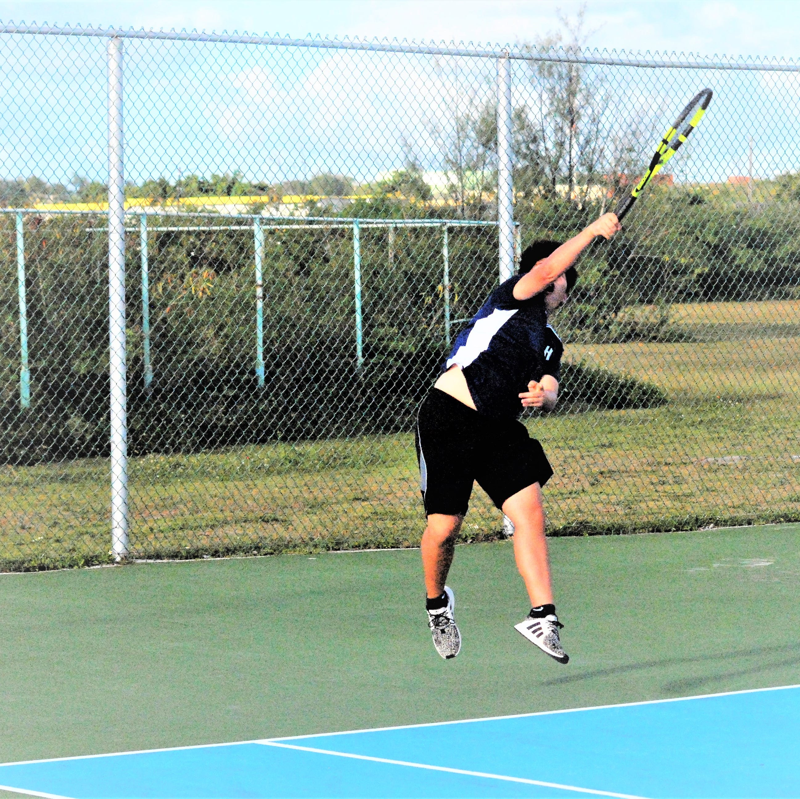 Harvest Eagles boys tennis roll over four-time champ Friars