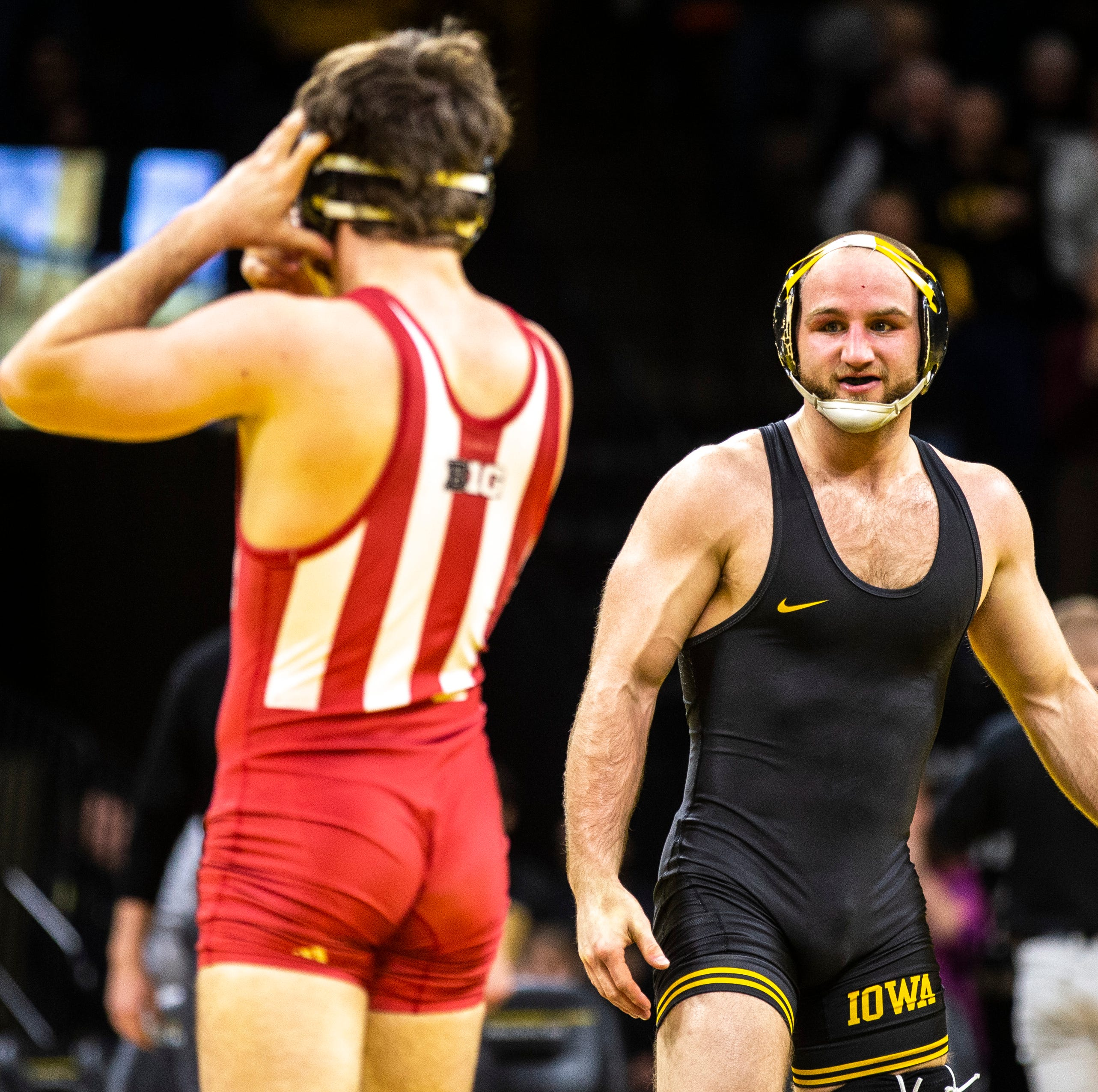 NCAA Wrestling: Iowa, ISU, UNI's match-by-match results from Session I of the 2019 national championships