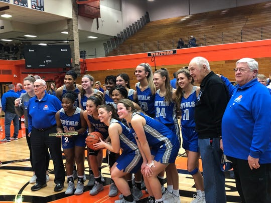 The Royals defeated Crown Point 61-28 to advance to the Class 4A state finals.