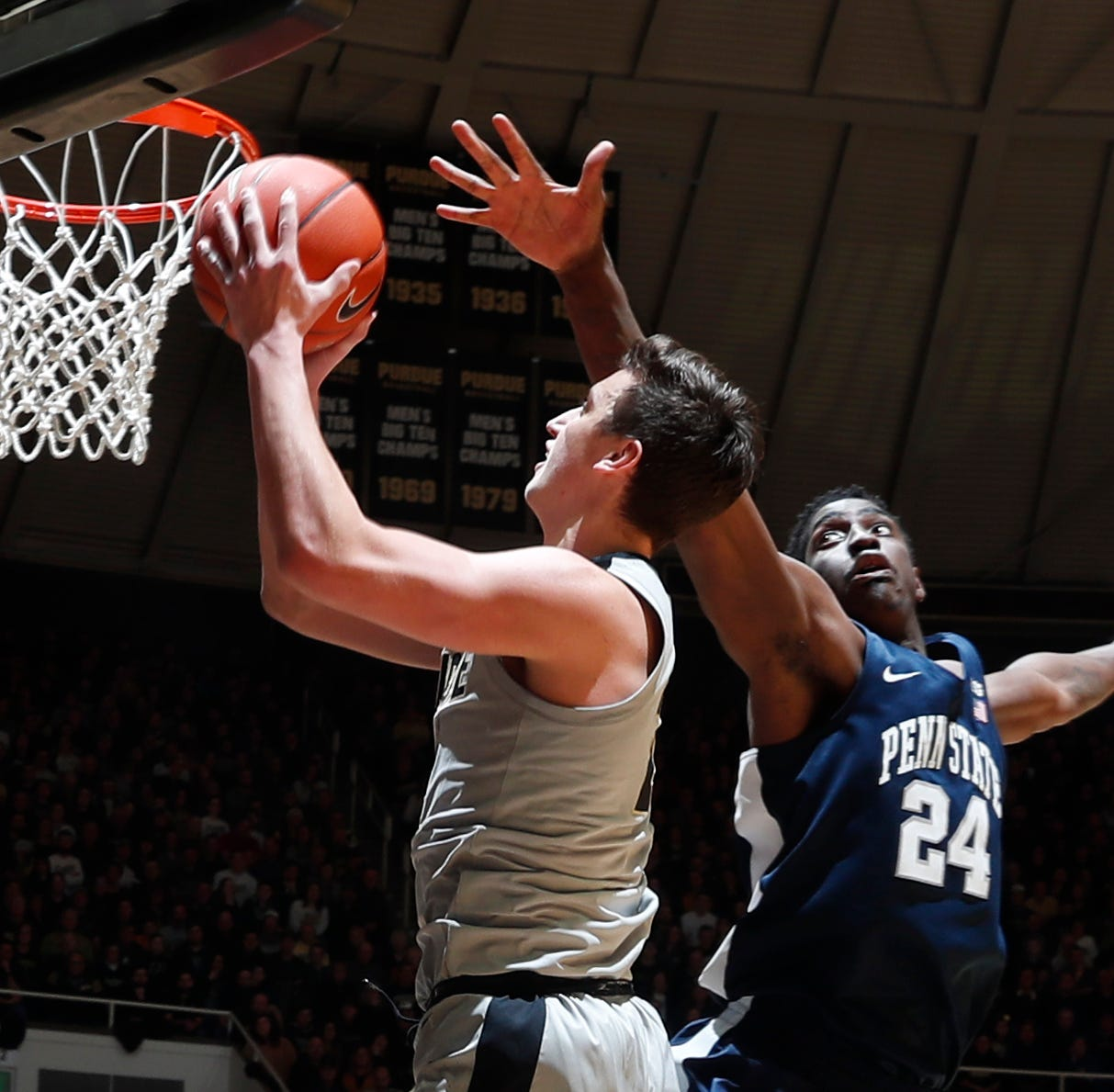 Doyel: Purdue basketball's Grady Eifert is a noun, a verb and a winner