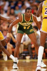 Nate McMillan played his entire 12-year career with Seattle (1986-98).